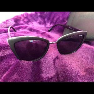 "Quay Australia ""My Girl"" Black Woman's Sunglasses"